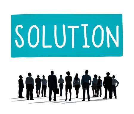 problem solution: Solution Solving Problem Strategy Answer Concept