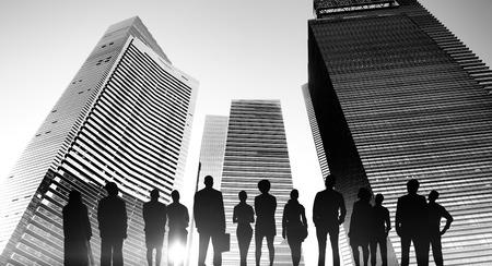 La gente de negocios Visión Estrategia Concepto Aspiración Foto de archivo - 49664314