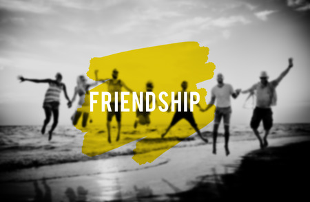 compa�erismo: Friends Friendship Companionship Fellowship Togetherness Concept