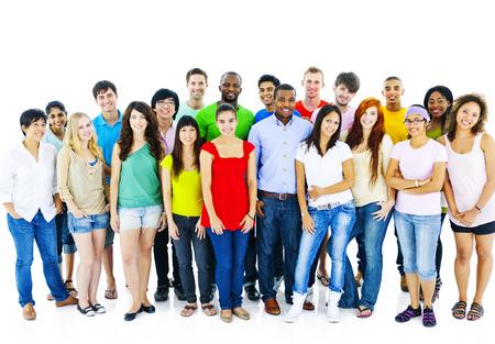estudiante: Gran grupo de Student Concepto Comunidad