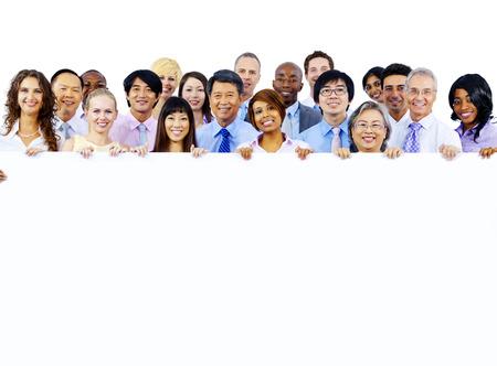 コラボレーション同僚の企業との連携の概念