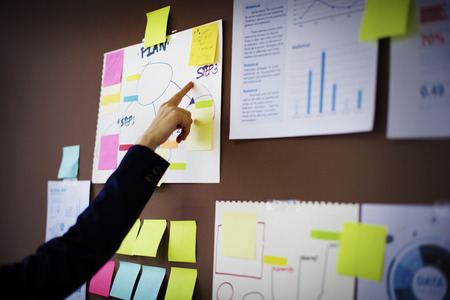 Business Chart Organization Planning Marketing Concept Banque d'images