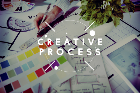 creativity and innovation: Creative Process Creativity Innovation Inspiration Concept