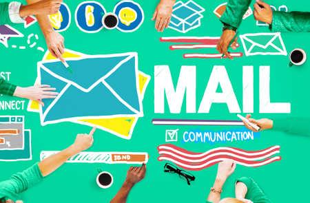 inbox: Mail Message Inbox Letter Communication Concept