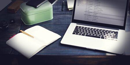 correspondencia: Comunicación Correspondencia concepto de correo electrónico Mensajería instantánea