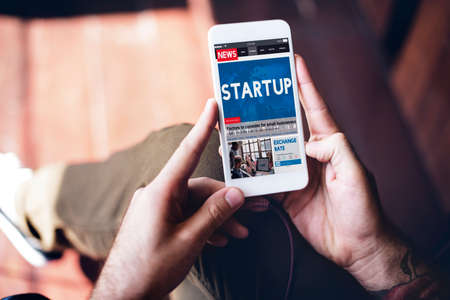 commence: Start Up Growth Launch Business Success Connecting Concept