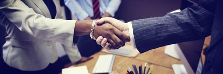 deals: Business People Handshake Greeting Deal Concept