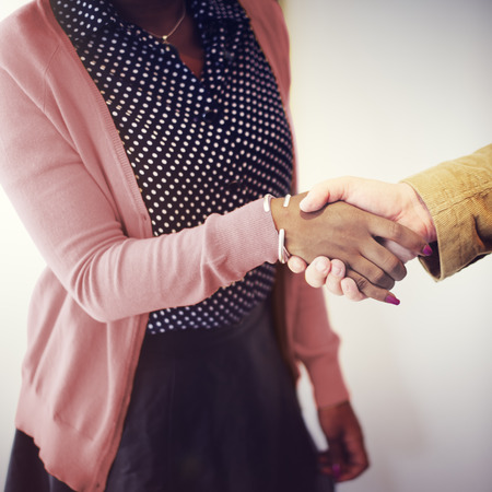 gesturing: Handshake Gesturing People Connection Deal Concept Stock Photo