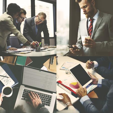 trabajo en equipo: Apoyar el concepto de conexi�n en equipo Negocio corporativo