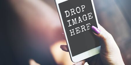 ad: Ad Advertisement Commercial Marketing Media Digital Concept Stock Photo