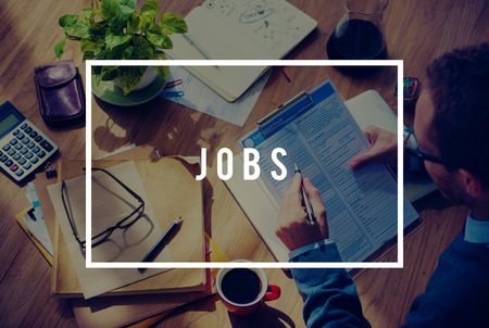 occupation: Jobs Employment Career Occupation Application Concept