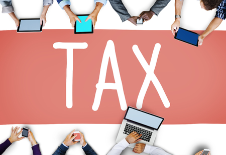 taxable: Tax Taxing Taxation Taxable Taxpayer Finance Concept Stock Photo