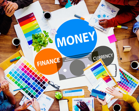 creative finance: Money Finance Currency Investment Economy Banking Concept