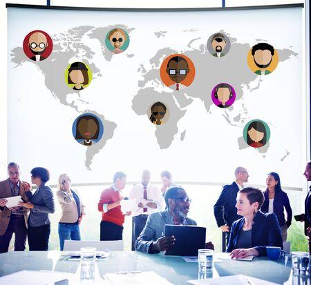 nationality: Global Community World People International Nationality Concept