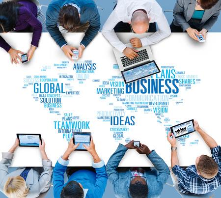 mision: Oportunidad de Negocio Global Organización Crecimiento Concepto