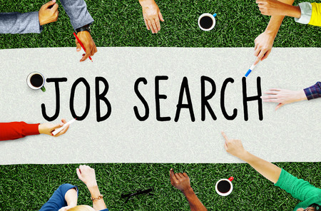 job search: Job Search Career Hiring Opportunity Employment Concept