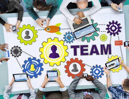 trabajando en equipo: Equipo Funcionalidad Industy Trabajo en equipo Conexión Tecnología Concepto