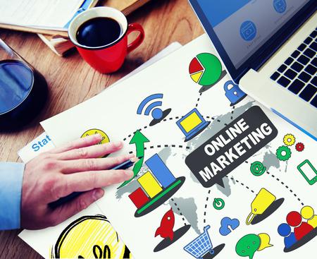Online marketingconcept