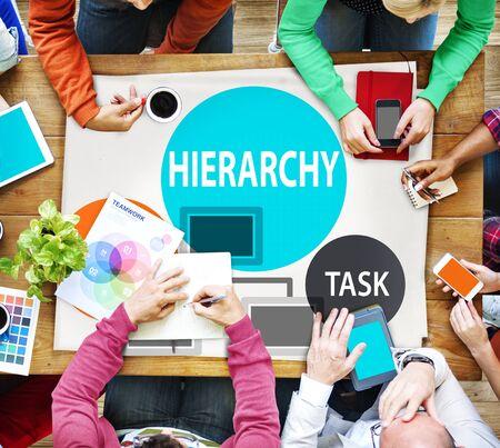 jerarquia: Estructura Jerarquía Tarea Multinivel Concepto Empleo