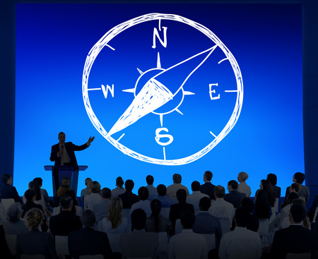 latitude: Conpass Longtitude Latitude Navigation Direction Adventure Concept