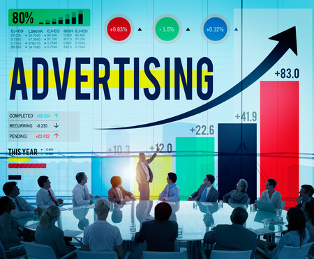 advertise: Advertising Advertise Branding Commercial Marketing Concept