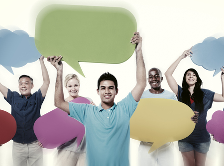 人々 の通信音声の社会的ネットワークの概念