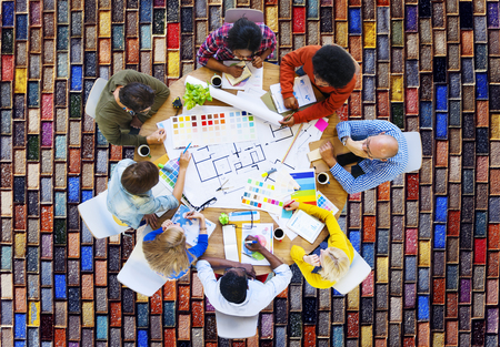 discussion: Meeting Brainstorming Discussion Collaboration Concept