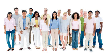 community group: People Diversity Casual Group Ethnicity Community Concept