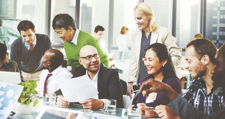 team building: Business People Team Teamwork Cooperation Partnership Concept Stock Photo