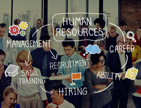 Human Resources Recruitment Employment Career Concept