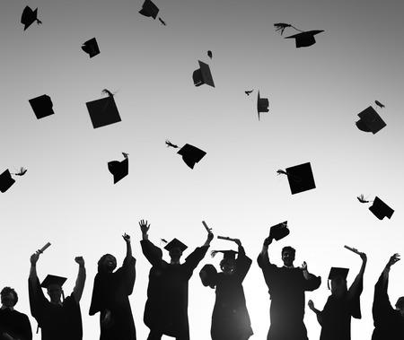 congratulations: Celebration Education Graduation Student Success Learning Concept