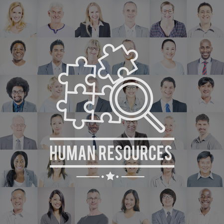 resources: Human Resources Hiring Employement Contact Concept Stock Photo