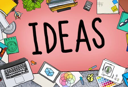 Ideas Creative Strategy Tactics Vision Concept Stock Photo