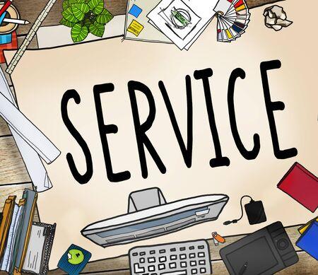 consumerism: Service Support Satisfaction Consumerism Concept
