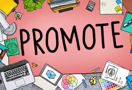 Promouvoir Concept plan de marketing Promotion Commerciale
