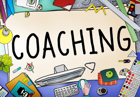 mentor: Coaching Training Mentor Teaching Coach Concept