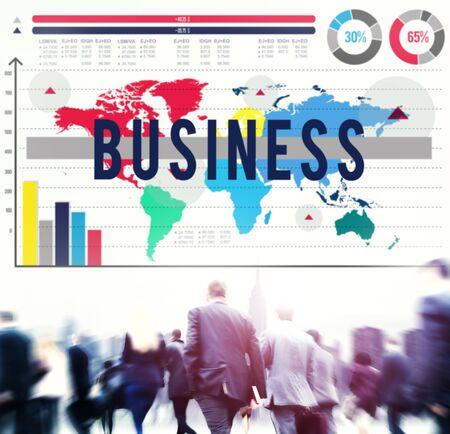 company: Business Marketing Organization Company Concept