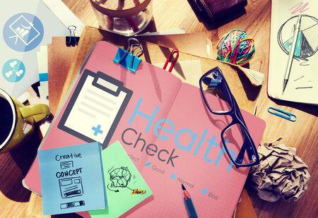 Health Check Seguros Check Up Check List concepto médico