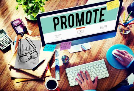 commerce: Promote Commerce Announcement Marketing Product Concept