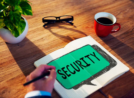 secret place: Security Data Protection Policy Private Concept
