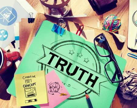 honest: Truth Belief Faithfulness Honest Honorable Concept