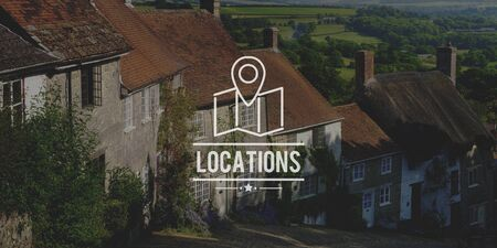 shaftesbury: Locations Traveling Destination Navigation Vacation Concept