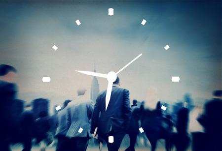 Zarządzanie czasem Zegar Działanie Alarm Concept