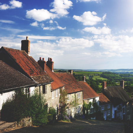 shaftesbury: Home Rural Scene House British Culture Destination Travel Concept