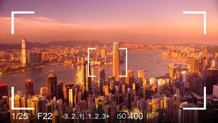snapshot: Camera Focus Aim Snapshot Adjustment Exposure Concept