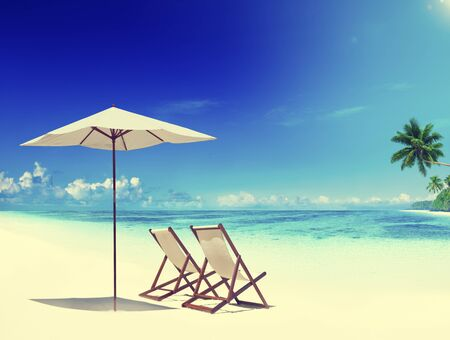 Transat Tropical Beach Loisirs Été Concept de vacances