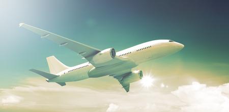 Avion Avion Aircraft Transport Voyage Voler Banque d'images