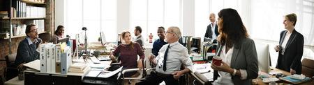 Business-Team Office Worker-Konzept