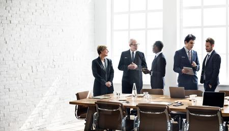 Réunion du Groupe d'affaires Discussion Stratégie Concept de travail