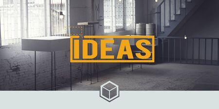 basic scheme: Ideas Creative Thinking Vision Motivation Concept